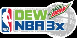 logo de Dew NBA 3X