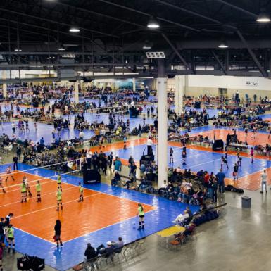 Gran festival de voleibol con canchas de SnapSports