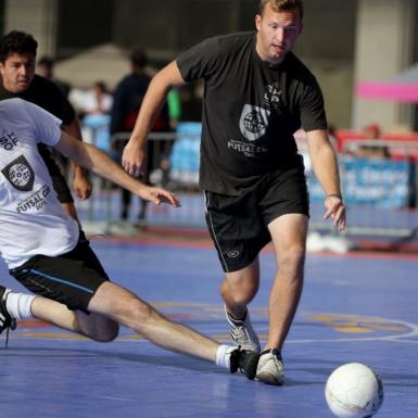 Competencia de fútbol sala en los estados unidos