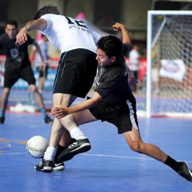 Competencia de fútbol sala