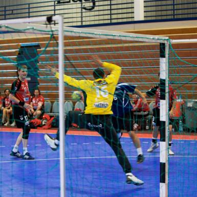Portero de handball