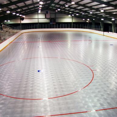 Gran pista de hockey comercial
