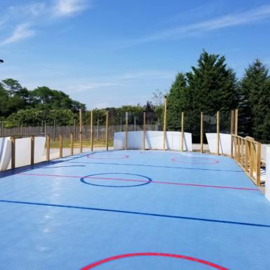 Cancha de hockey DuraCourt azul