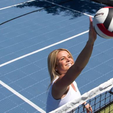 Vóleibol al aire libre
